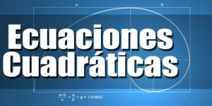 Ecuaciones-Cuadráticas