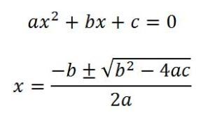 Fórmula-General-Ecuaciones-Cuadráticas