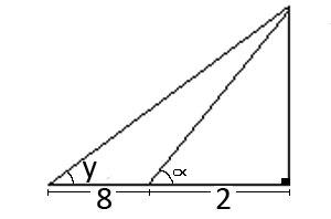 De acuerdo a la imagen, hallar el valor de L=(tanα)(coty)