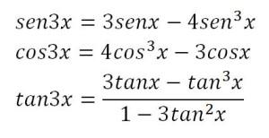 Fórmulas-de-ángulo-triple