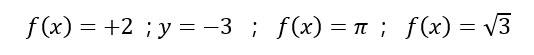 función-constante-ejemplos