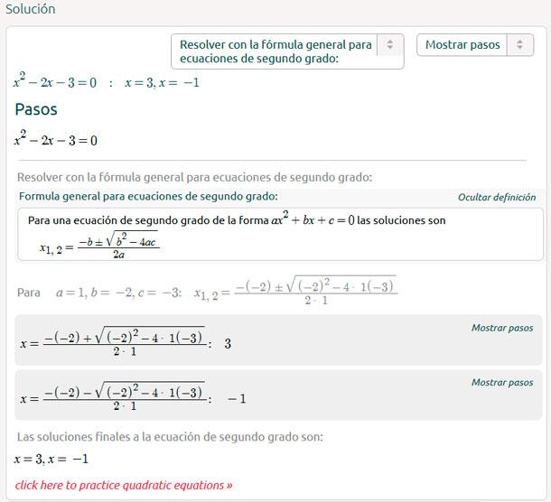 Calculadora De Ecuaciones Cuadráticas Matemóvil