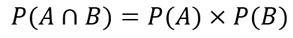regla del producto de probabilidades